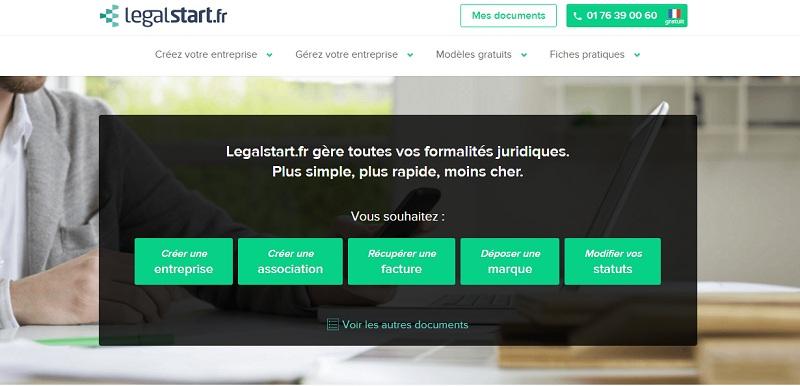 Legalstart, l'une des legaltechs les plus connues