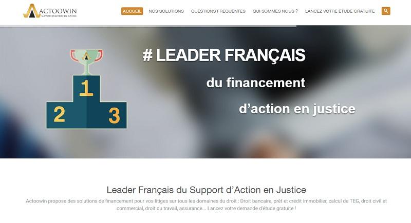 actoowin financement action en justice