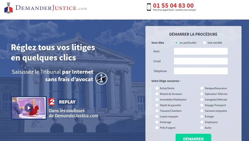 demander justice procédures judiciaires en ligne